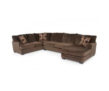 Bob's Charisma 3 Piece Sectional Sofa
