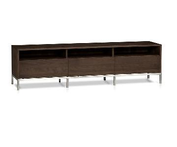 Crate & Barrel Pearson Walnut Media Console