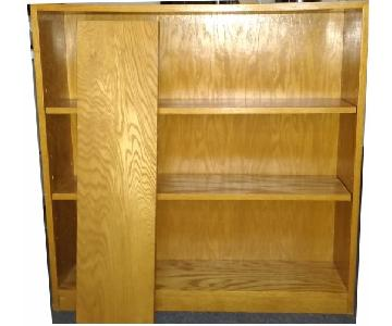 Gotham Furniture Bookcase w/ 3 Adjustable Shelves