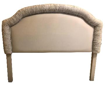 Custom Queen-Size Padded Upholstered Headboard