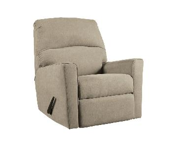 Ashley Alenya Quartz Rocker Recliner