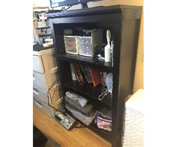 Dark Brown 3 Shelf Storage