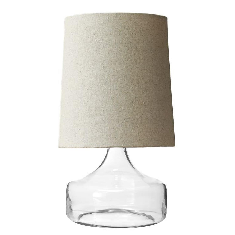 West elm perch clear table lamp aptdeco west elm perch clear table lamp aloadofball Gallery