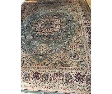 Masland Carpets Green Patterned Rug