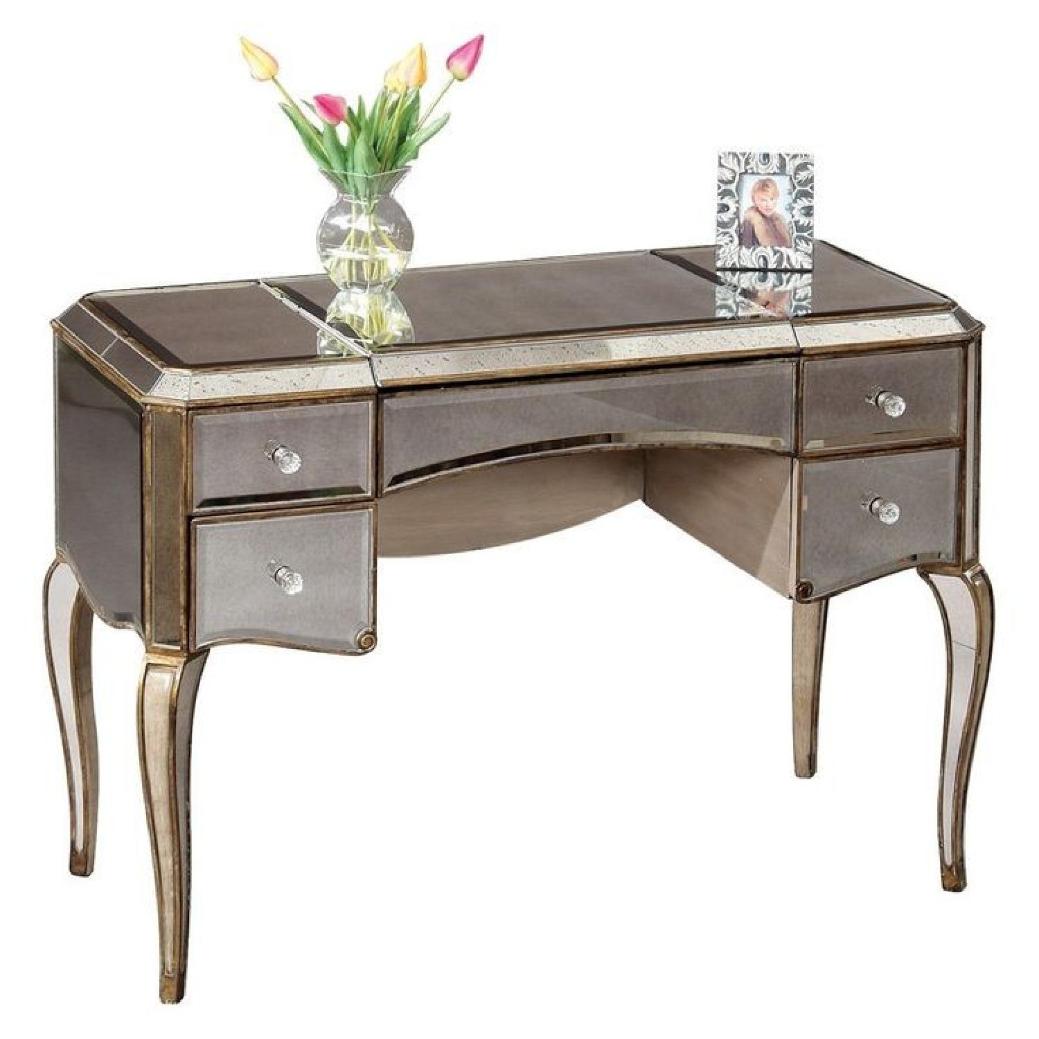 Horchow Mirrored Vanity Table ...