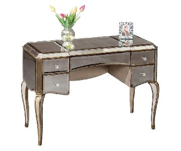 Horchow Mirrored Vanity Table