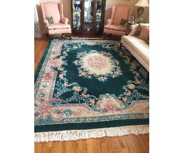 Oriental Handmade Wool Area Rug