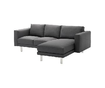 Ikea Norsborg Sectional Sofa w/ Chaise