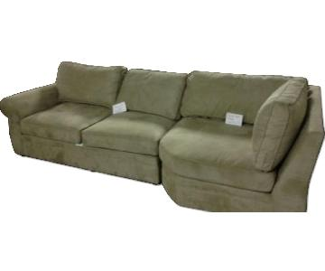 Pottery Barn Pearce 2-Piece Sectional Sofa