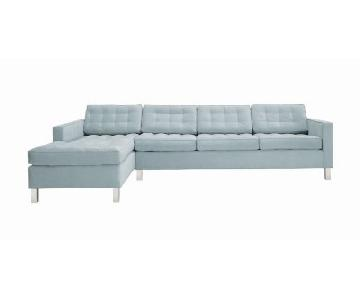 Dune Climate Sectional Sofa w/ Chaise