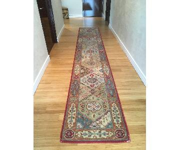 Antique Hallway Runner Rug