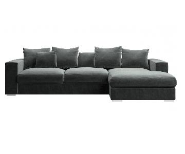 BoConcept Cenova Sectional Sofa in Grey