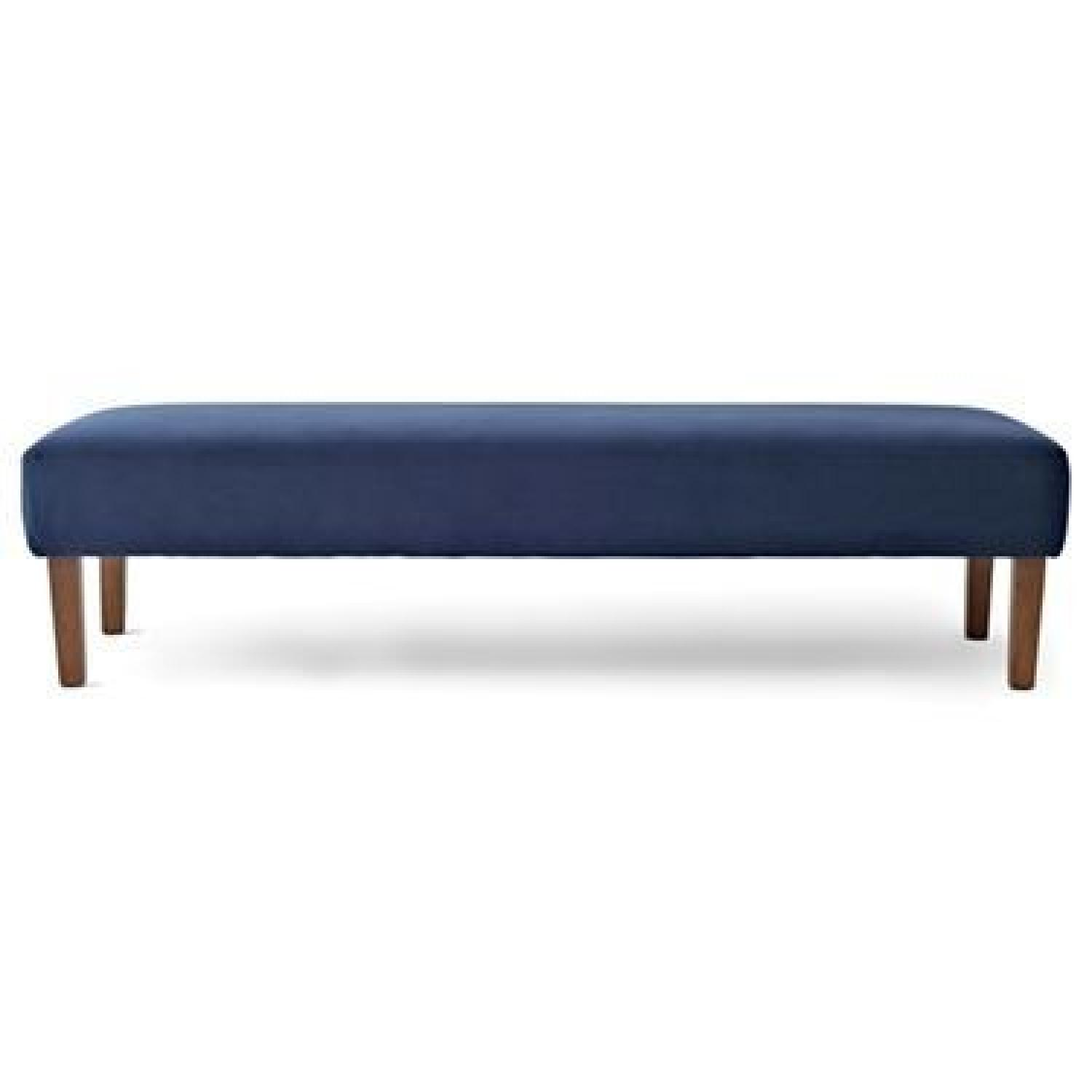 shipping fabric hastings by navy bench christopher home product today with tufted casters free overstock ottoman knight velvet garden