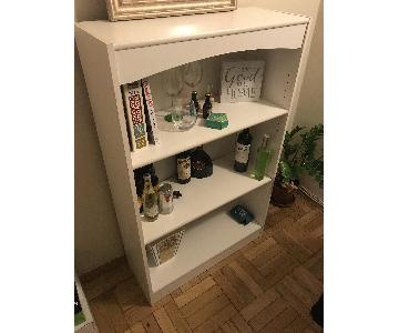 3 Shelf Wood Bookshelf