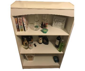 3 Shelf Wood Bookshelf