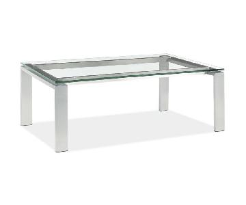 Room & Board Rand Glass Cocktail Table