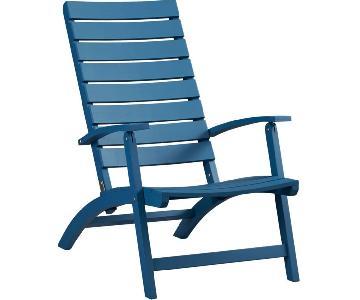 Crate & Barrel Adirondack Chair
