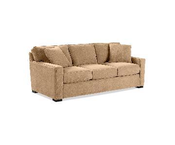 Macy's Radley 3 Seater Sofa in Caramel