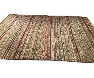 Crate & Barrel Hand Knotted Wool Rug