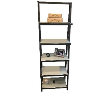 CB2 Metal Bookshelf
