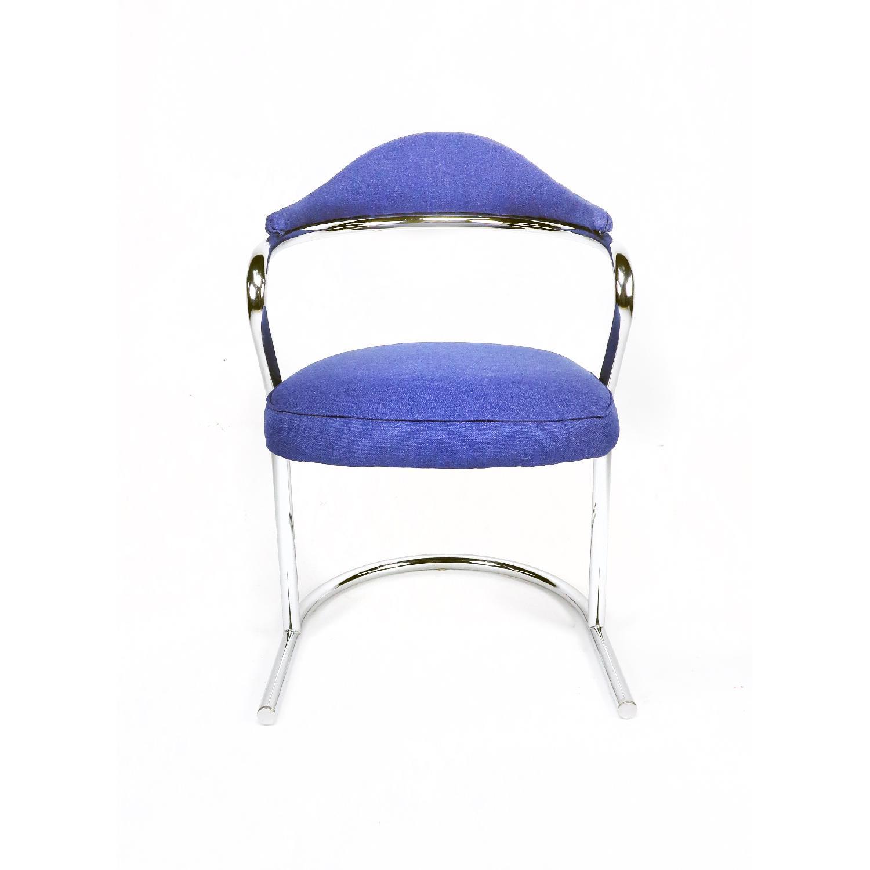 Anton Lorenz for Thonet Chrome Chair - image-1