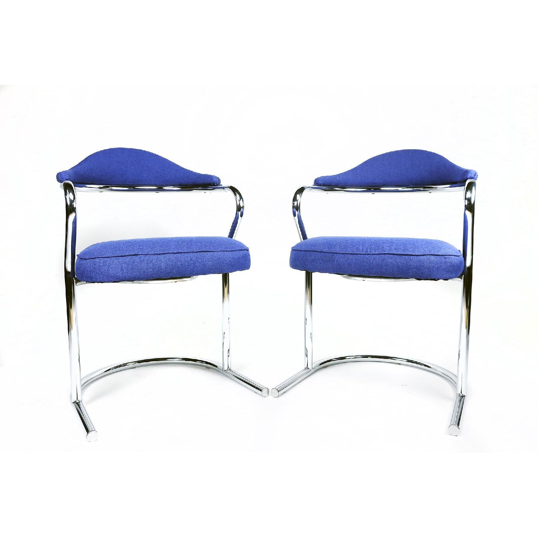 Anton Lorenz for Thonet Chrome Chair - image-3