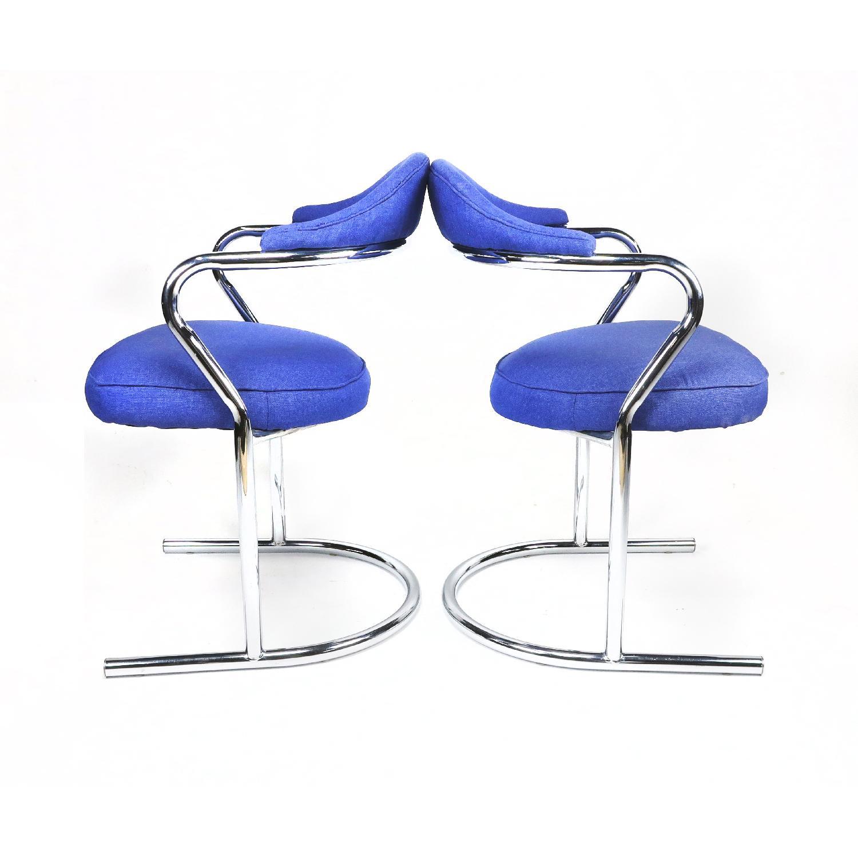 Anton Lorenz for Thonet Chrome Chair - image-4