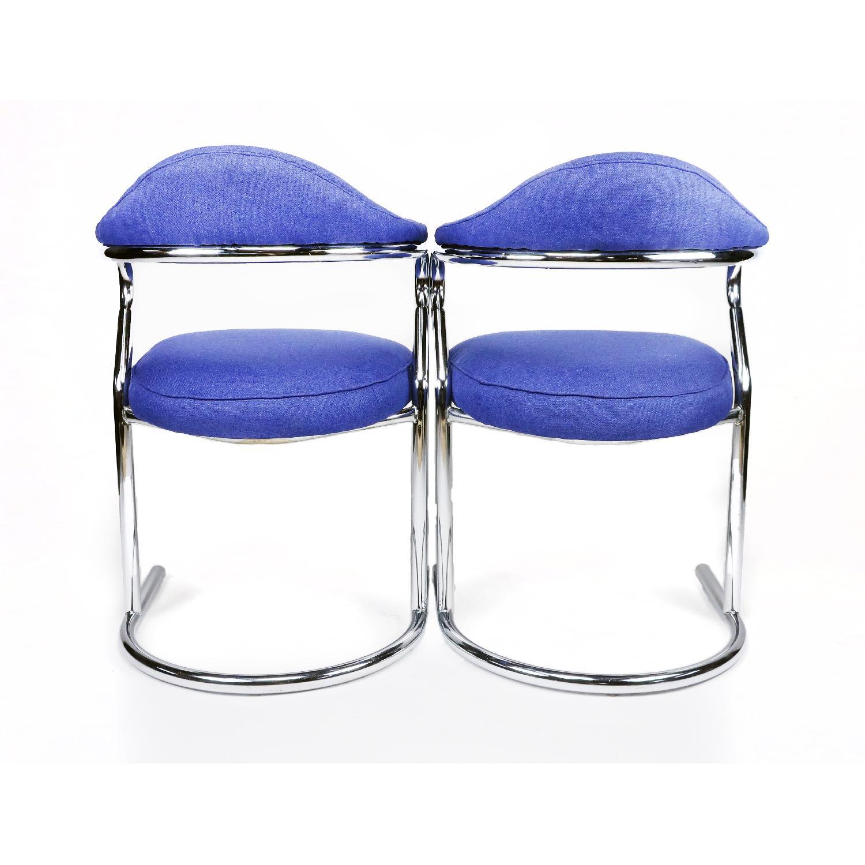 Anton Lorenz for Thonet Chrome Chair - image-5