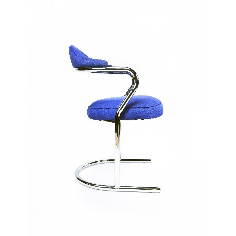 Anton Lorenz for Thonet Chrome Chair - image-7