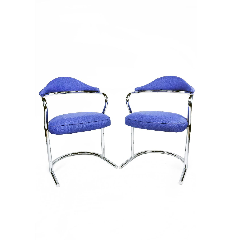 Anton Lorenz for Thonet Chrome Chair - image-8