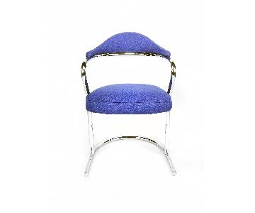 Anton Lorenz for Thonet Chrome Chair