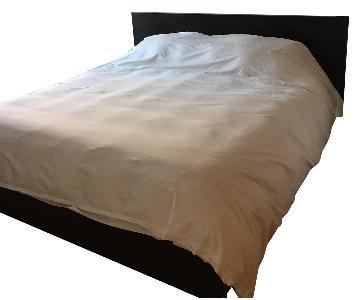 Ikea Malm King Size Black Bed w/ Slatted Base