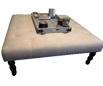 Home Goods Fabric Coffee Table