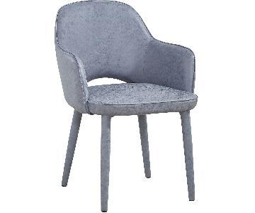 TOV Furniture Orion Smokey Grey Chair