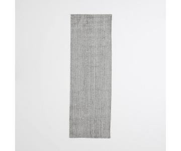 West Elm Hand-Loomed Gray Rug