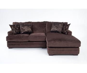 Bob's Charisma 2 Piece Left Arm Facing Sectional Sofa