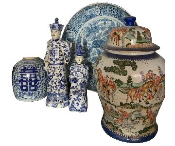 Chinese Blue & White Chinese Export Porcelain