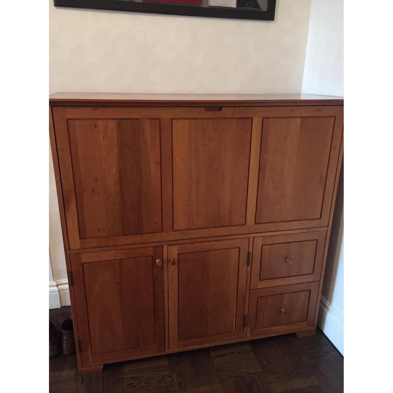 Copeland Furniture Computer Armoire/Hideaway Desk ...