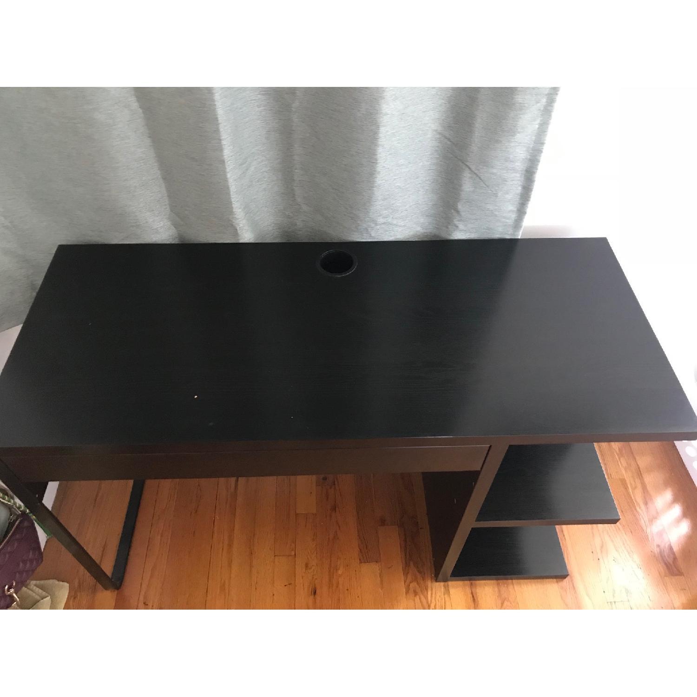 ... Ikea Micke Desk W/ Integrated Storage 2 ...