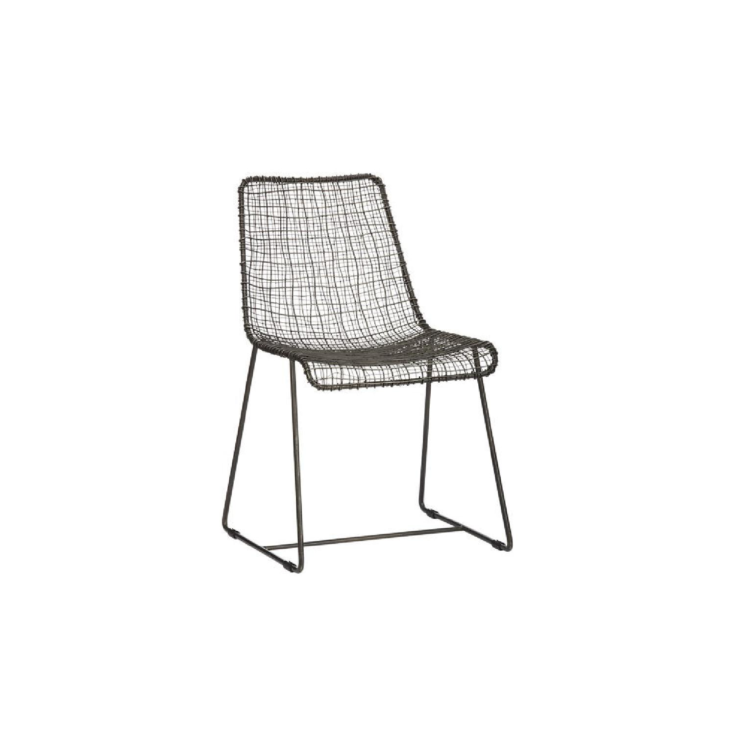 CB2 Reed Dining Chairs
