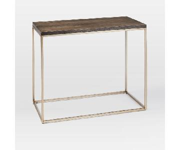West Elm Streamline Narrow Side Table