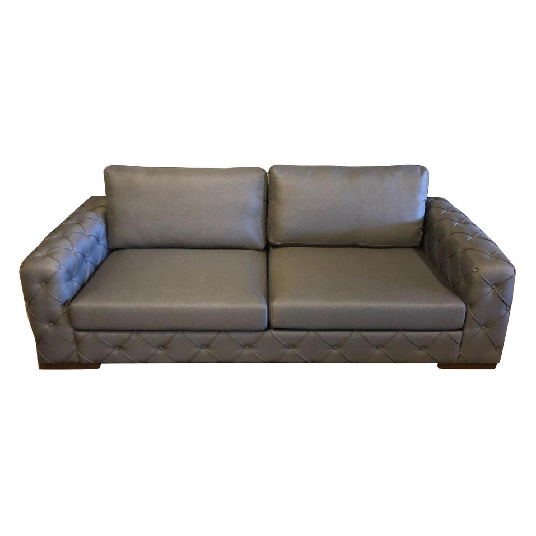 Naturalist Tufted Sleeper Sofa/Sofa Bed