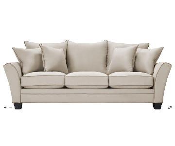 Raymour & Flanigan Briarwood Microfiber Sofa