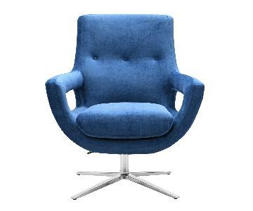TOV Furniture Fifi Navy Swivel Chair