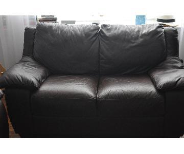 Natuzzi Italsofa Leather Sofa