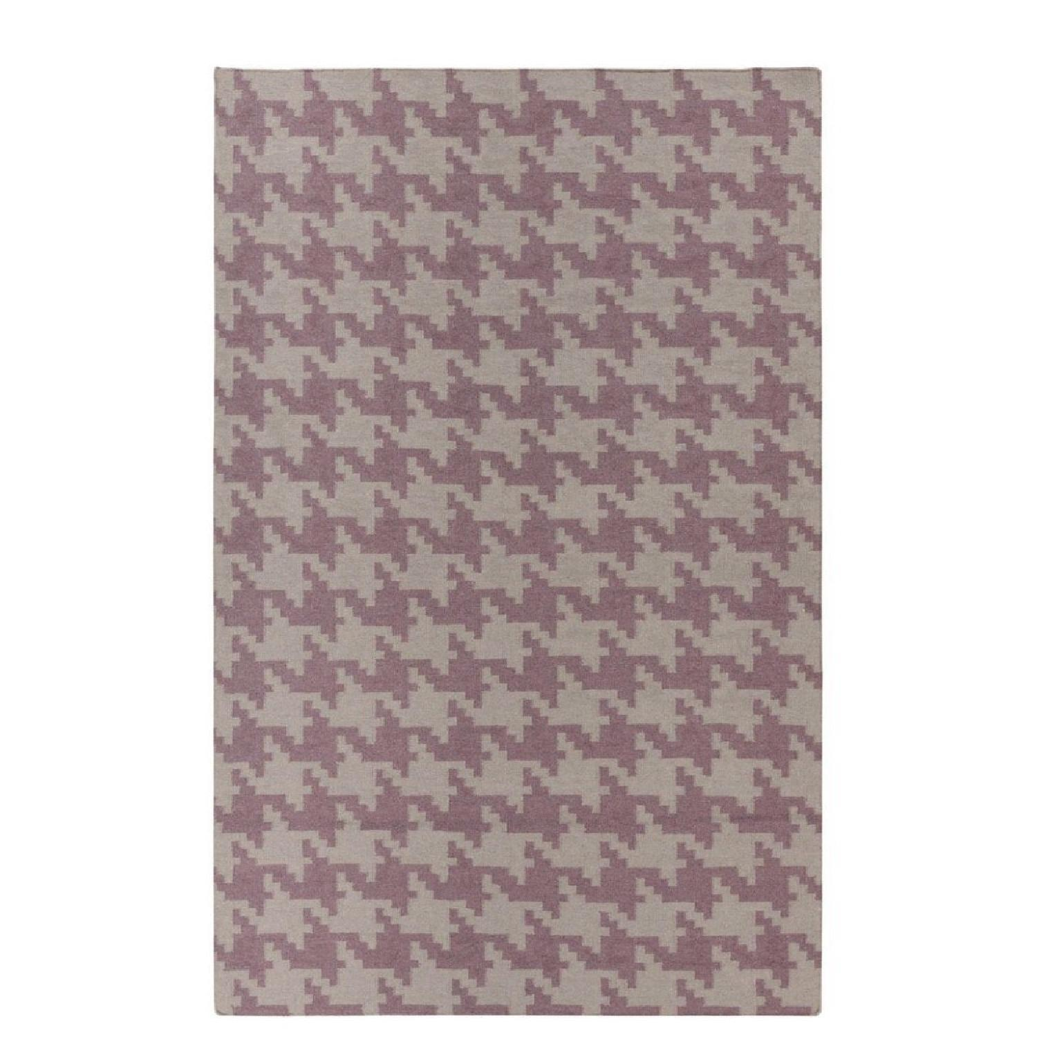 Hand Woven Houndstooth Lyons Rug - image-1