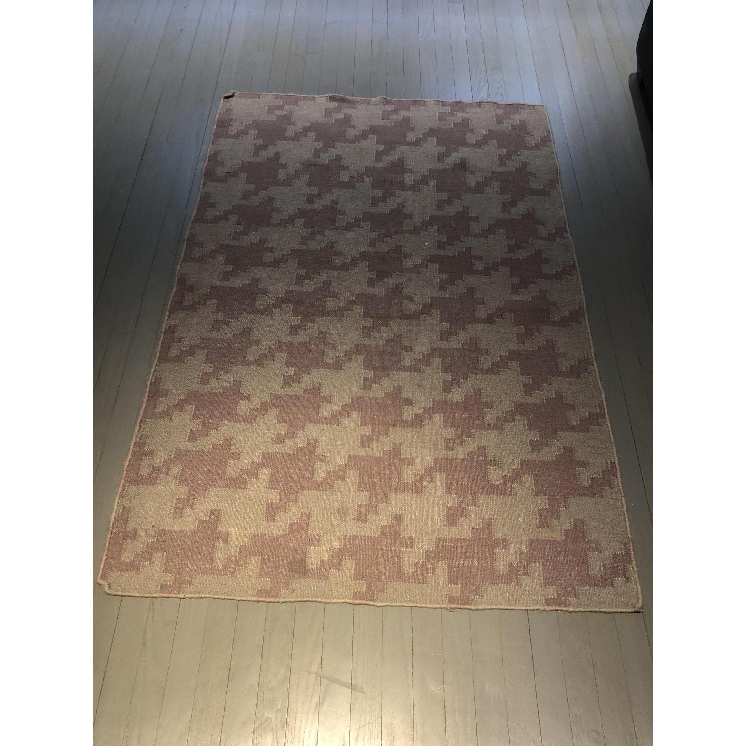Hand Woven Houndstooth Lyons Rug - image-2