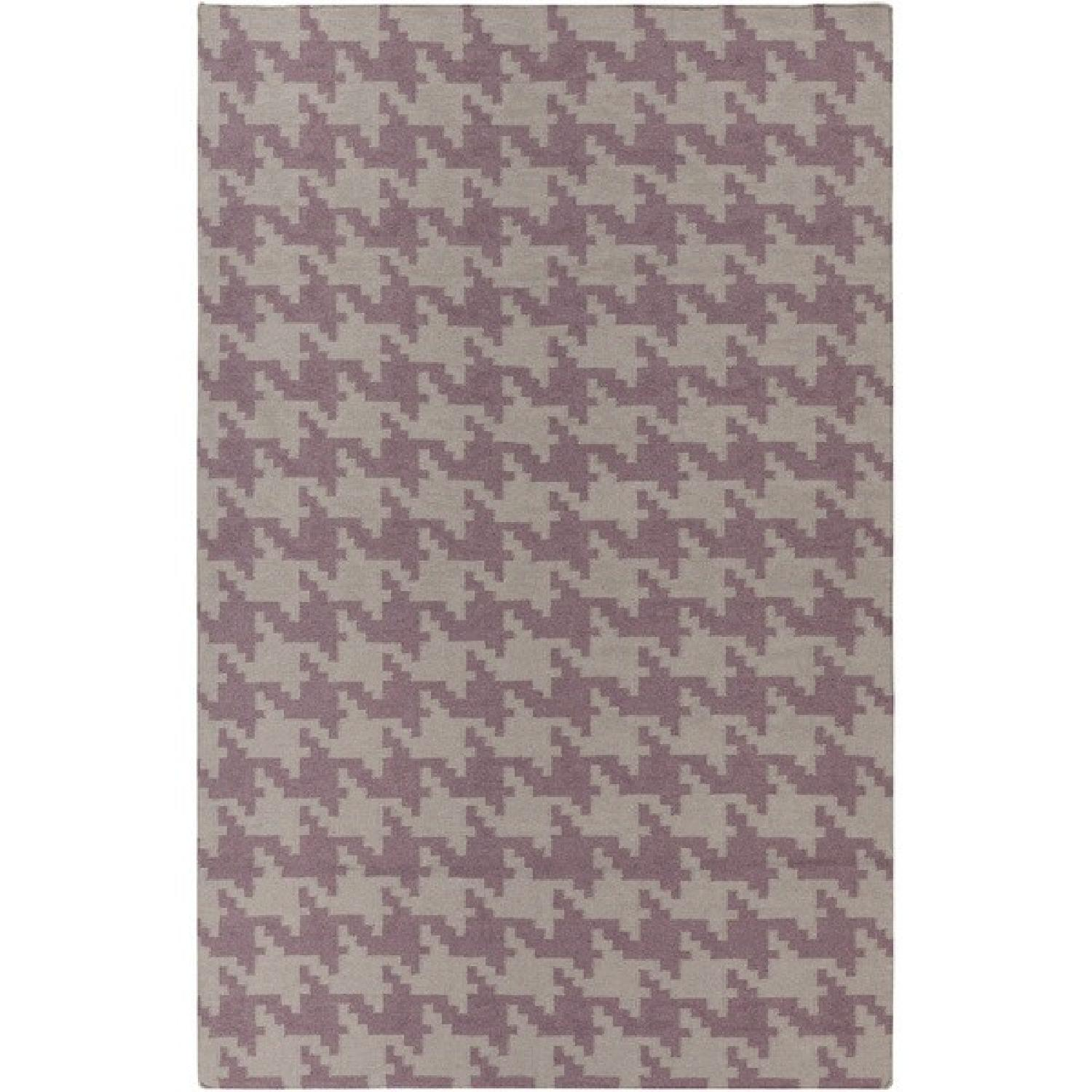 Hand Woven Houndstooth Lyons Rug - image-0