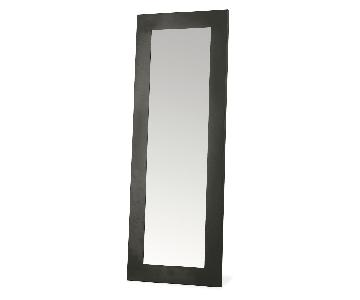 Room & Board Manhattan Leaning Mirror in Natural Steel