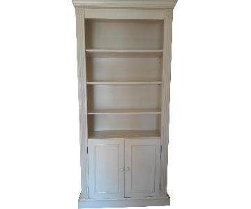 Gothic Cabinet Craft Birch Wood Bookcase w/ 2 Doors